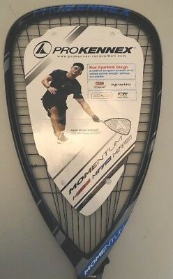 PROKENNEX RACQUETBALL 2017 MOMENTUM 170 3 5/8 grip  Autograph By Kane The king