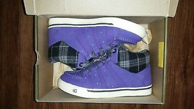 Keen shoes girls boots purple violet alameda mid sneakers Size 2 youth NEW