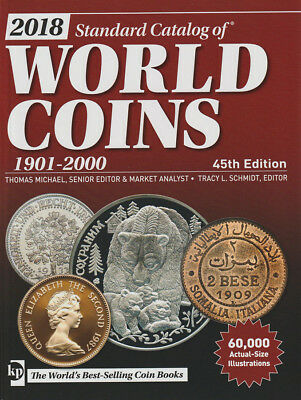 KRAUSE - WORLD COINS - 1901-2000 - 45th EDITION - UNUSED FREE SHIP  KP-WC1901-45