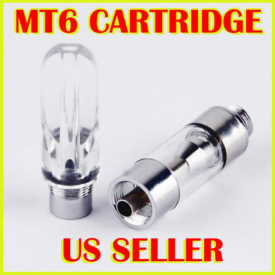 1/5/10-Pack 0.5ml 510 CCELL C-CELL Thread Ceramic Wickless Cartridges MT6 Tanks