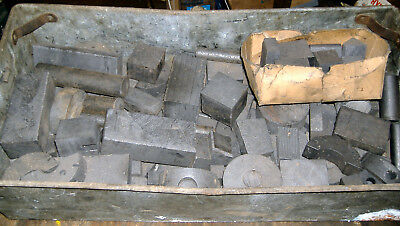 Collection of carbon graphite anodes & tools for electroplating