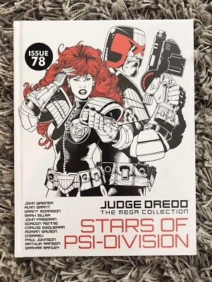 Judge Dredd The Mega Collection : Stars Of Psi Division Issue 78