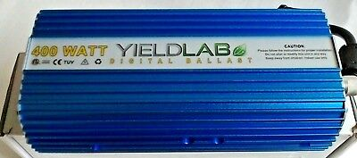 Yield Lab 400watt Dimmable Digital Ballast for HPS & MH Horticulture Grow Lights