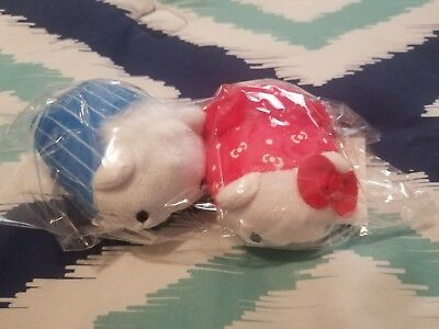 New loot crate Sanrio Mamepuchi plush set with