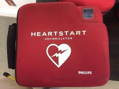 Philips HeartStart FR2 in case w/ NEW Adult Pads and Batteries