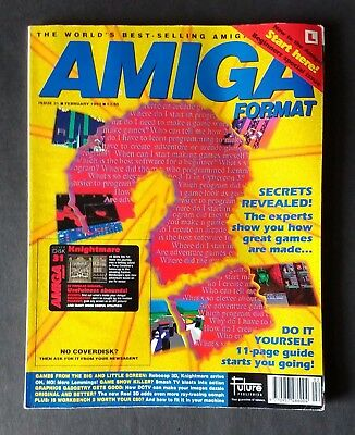 Amiga Format Issue 31 (February 1992) No Cover Disk