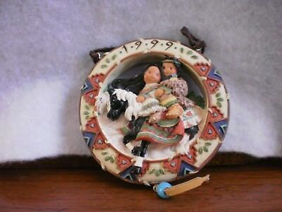 Enesco Friends of the Feather Love Reins #550612 Decorative Ornament with Box
