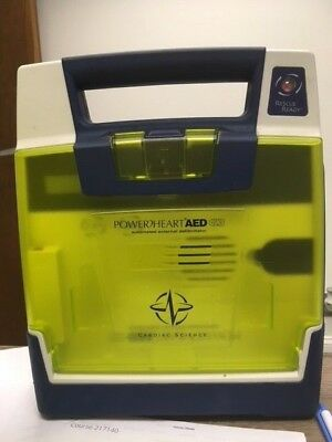 PowerHeart G3 AED w/ Case, New Pads and New Batt.