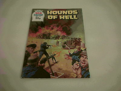 Fleetway Library War Picture Library Hounds Of Hell No.153 V/F *NICE COPY*