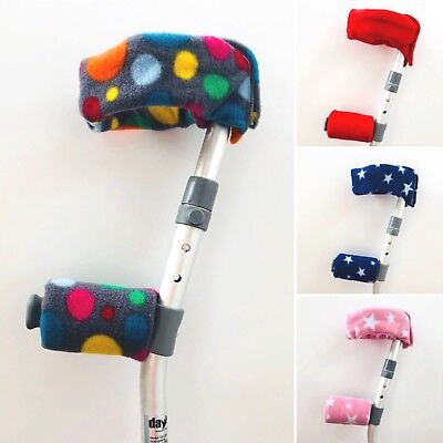 **CHILDREN'S SIZE** Padded Handle Comfy Crutch Covers and Sleeves!!