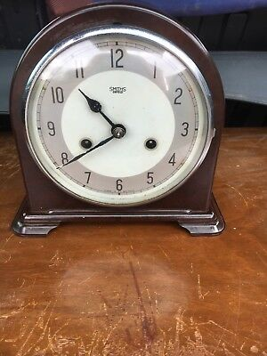 Smiths Enfield Bakelite Mantle Clock
