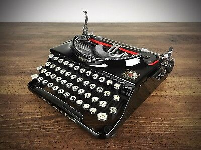 VINTAGE 1930s IMPERIAL 'GOOD COMPANION' TYPEWRITER, REFURBISHED, EXCELLENT COND.