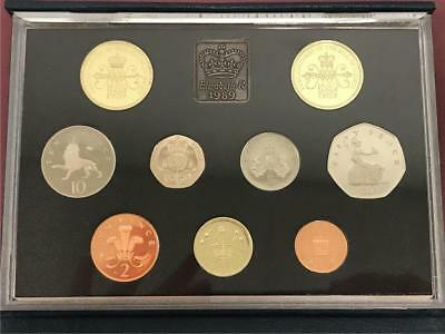 Great Britain 1989 7 Piece Proof Set *FREE SHIPPING*