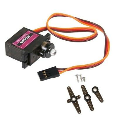 Set of MG90S Digital Micro Servo Motor Metal Gear For RC Helicopter Car Airplane