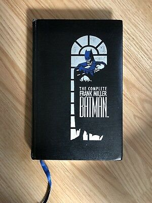 The Complete Frank Miller Batman 1989 Leather Bound Signed by Frank Miller w/COA