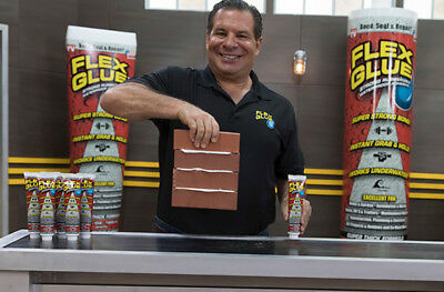 Flex Glue Strong Rubberized Waterproof Adhesive w/ Grab As Seen On TV 6 oz Tube
