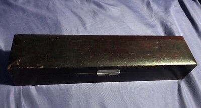 AO, Reichert P.O.C Projector Slide For Visual Acuity Antique Storage Case