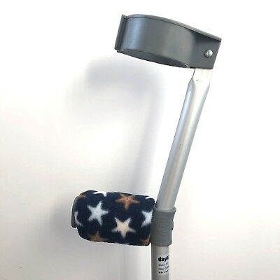 Crutch Handle Padded Covers HIGH QUALITY Cushioned Foam Pad  - Starfish