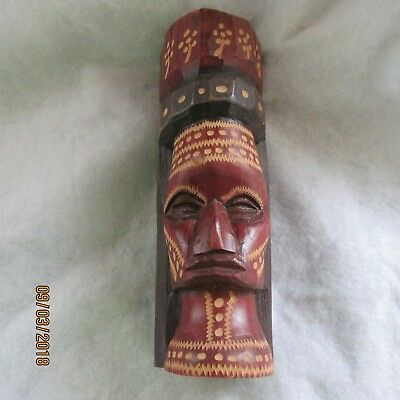 Beautiful Hand Carved Alaskan Totem Pole Signed And Dated 1986