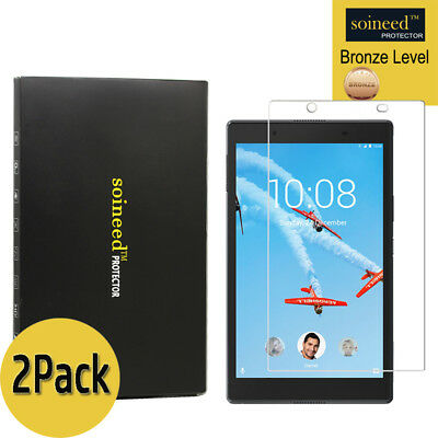 [2-Pack] SOINEED Tempered Glass Screen Protector For Lenovo Tab 4 8 (8.0 inch)