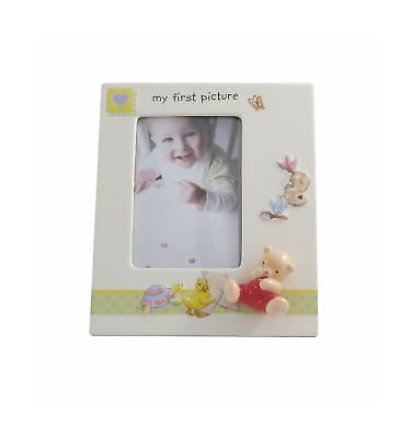 Aynsley My First Picture Frame, White