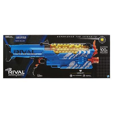 Nerf Rival Nemesis MXVII-10K Blue Version Brand New Sealed!