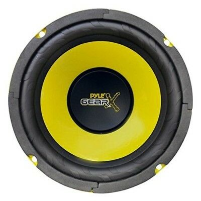 6.5 Inch Sound Speaker System Mid Bass Woofer For Car Component Stereo Yellow