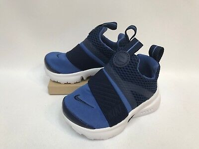 69856fa81b0 NIKE PRESTO EXTREME (TD) Toddler Shoes Blue White 870019-400 NEW ...