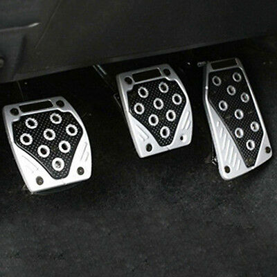 Non-Slip Manual Transmission Car Foot Pedal Cover Brake Clutch Accelerator Kit