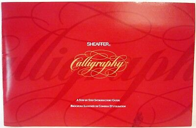 Shaeffer Caligraphy Set ~ With Instructions & 3 Nib's W/pen's & 8 Colors
