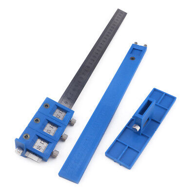 Punch Locator Drill Guide Sleeve Cabinet Hardware Jig Drawer For Woodworking
