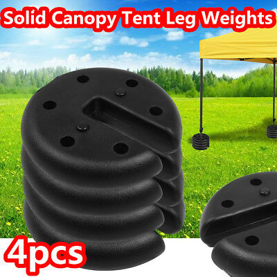 4pcs Outdoor Canopy Tent Leg Weights Anchor Gazebos Camping Party Mount Stand UK