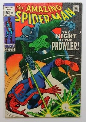 The Amazing Spider-Man #78 1st Appearance Prowler Key Marvel Comics 1969