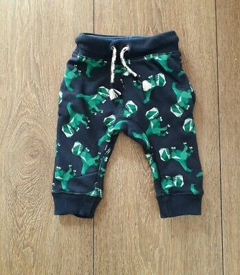 Next Baby Boys Dinosaurs  Jog Bottoms Age 6/9 Months