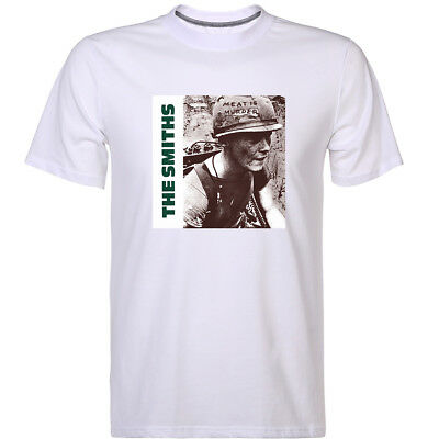 New The Smiths T-shirt Meat Is Muder Morrissey Men's Punk Lock Music Tops Tee