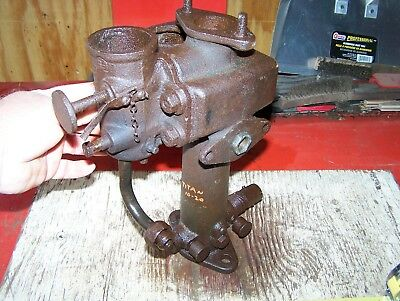 Old INTERNATIONAL HARVESTER IHC Titan 10-20 Tractor Fuel Mixer Throttle Assembly