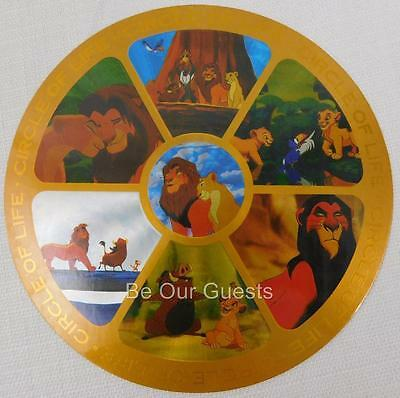 Disney Parks Postcard Circle Of Life Lion King New