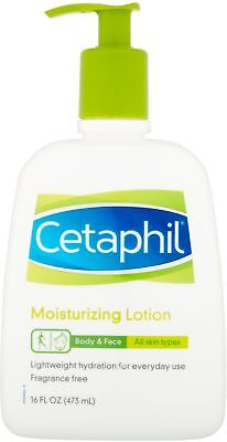 Cetaphil Moisturizing Lotion For All Skin Types, Fragrance-Free, 16 Fl Oz