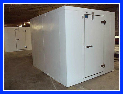 """10'x10'x7'10"""" New Foster Walk In Cooler with Refrigeration (no floor)"""