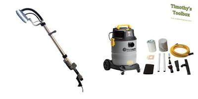 Renegade Drywall Sander 750W (Lunar X Technology) with Vacmaster HEPA Vacuum
