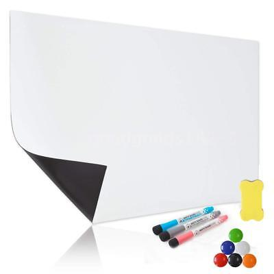 Large A3 Magnetic Whiteboard Soft Dry Erase Family Planner w/ 3 free marker A1T1