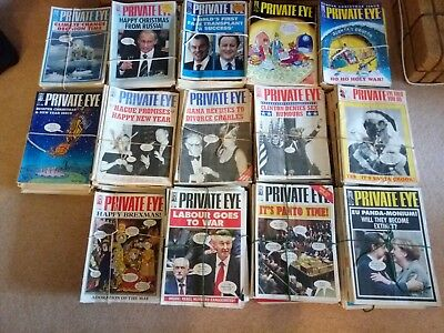Private Eye Magazine Collection. Approximately 830 issues between 1984-2016.