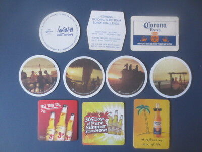 10 different CORONA BEER ,Australian Issue, BEER  COASTERS