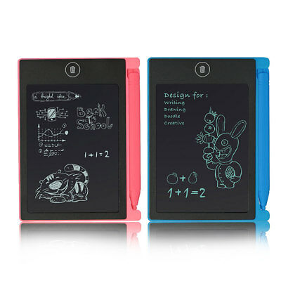 Portable 4.5inch LCD Writing Drawing Board Tablet Pad Writing with Stylus 82D8
