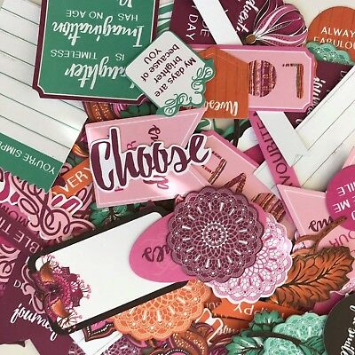 KAISERCRAFT DIE CUT PACKS - BOMBAY SUNSET (15 pieces in pack)