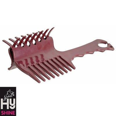 HyShine Perfect Plaits Comb – BURGANDY – For Perfectly Neat Plaits *FREE P&P*