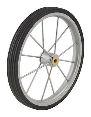 Apex SC9013-P03 Black Silver Shopping Cart Wheel,  9.5