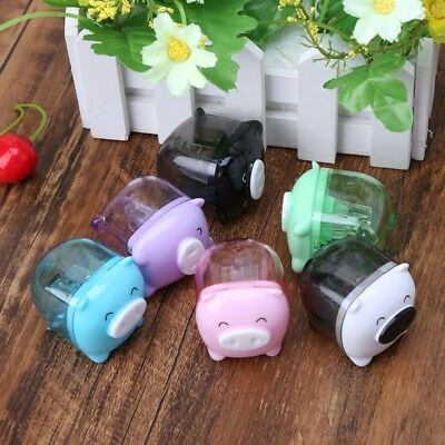 Sweet Candy Colored Kawaii Pig Pencil Sharpener School Supplies Stationery