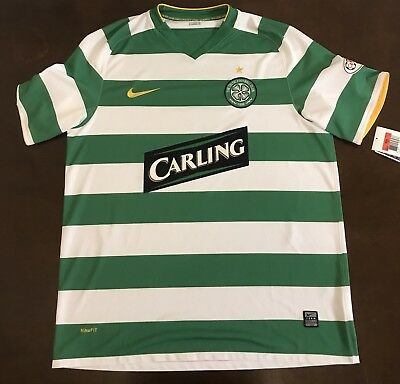 2ee25eb60 Rare 2008 Nike Celtic FC Billy McNeill Commemorative Futbol Soccer Jersey