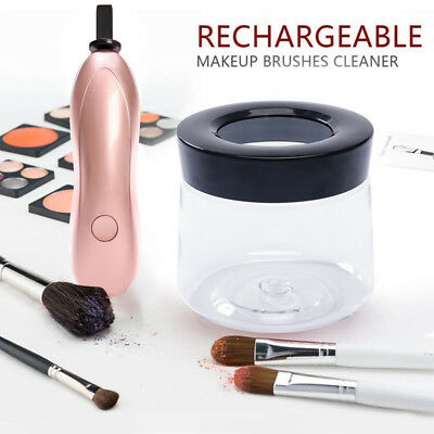 3-mode Rechargeable Electric Cosmetic Makeup Brush Dryer Cleaner Cleaning Tool